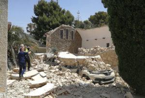 Zawaliła się kaplica, Torrevieja