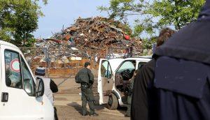 Skradziono dziesięć ton miedzi, Torrevieja