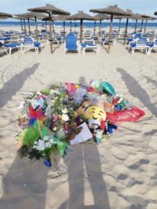 Śmierć dziecka na plaży, Torrevieja