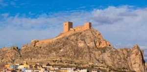 Zamek w Sax, Torrevieja