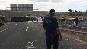 Groźny wypadek na A7, Torrevieja